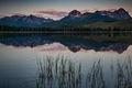 Id, idaho, sawtooth, mountains, water, lakes, sunrise, stanley, salmon river, little redfish, redfish lake