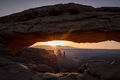 utah, ut, canyonlands national park, mesa arch, sunrise, canyons, southwest, colorado plateau,  sun star, starburst, atmospherics, red rock, moab, sandstone, islands in the sky