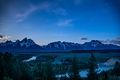 snake river, snake, river, mountains, landscape, tetons, grand tetons, sunrise, clouds, storm, jackson, trees, national park, water, spring, atmospherics, sunrise, stars, predawn