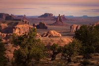 monument valley, southwest, sunrise, AZ, UT, arizona, utah, indian land, mountains, desert