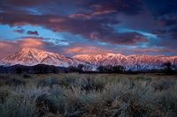 eastern sierra, sierra, lenticular clouds, clouds, bishop, sunrise,  spring, ca, california, sages, owens river valley, owens river, mountains, predawn