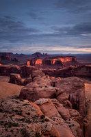 monument valley, southwest, AZ, UT, arizona, utah, indian land, mountains, desert, stars, night