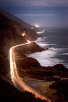 coast, coastal, water, pacific, big sur, sur, big, sunset, twilight, surf, waves, highway 1, hwy 1,  julia, ca, beach, california