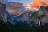 tunnel, view, sunset, yosemite, ca, california, el capitan, sierra, mountains, trees, water, winter, colors, trees, fog, fall, clouds, bridalveil, landscape, cathedral rocks, half dome, sentinel dome