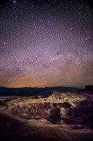zabriskie, point, death, valley, ca, california, sunrise, desert, southwest, milky, way, stars
