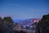 Grand Canyon, stars, Arizona, AZ, colorado river, southwest, west, sunrise, predawn, south rim