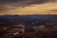utah, ut, canyonlands national park, sunset, clearing storm, clouds, canyons, southwest, colorado plateau, atmospherics, red rock, moab, sandstone, islands in the sky, green river