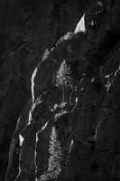 Yosemite, California, Ca, Sierra, valley, Yosemite national park,  el capitan, trees, sunset, horsetail falls, water, clouds, black white