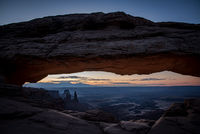 utah, ut, canyonlands national park, mesa arch, sunrise, canyons, pre dawn, dawn, southwest, colorado plateau, atmospherics, red rock, moab, sandstone, islands in the sky