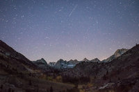 Sierra, fall. color, fall colors, mountains, trees, landscape, Bishop, aspens, california, north lake, sabrina, stars, night