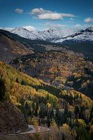 Fall colors, fall, trees, aspens, san juan mountains, co, colorado, durango, rockies, mountains