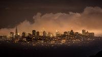 San Francisco Bay, San Francisco, California, CA, water, Mt Tamalpais, sunrise, clouds, bay area, dawn, fog, marin headlands,