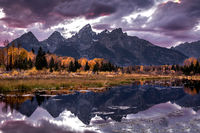 grand tendon national park, tetons, snake river, snake, river, mountains, trees, water, fall, color, fall colors, aspens,