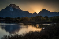 mountains, Wyoming, wy, Tetons, Grand Teton Park, landscape, Fall, trees, aspens, fall color, jackson, sunrise, snake river, meadow