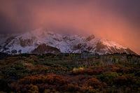Rocky Mountains, San Juan mountains, rockies, san juans, fall, autumn, color, trees, aspen, pine, fir, colorado, co, owl creek, rainbow, ridgway, sneffels range