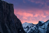 <p>yosemite national park, yosemite, sierra, mountains, trees, black oaks, winter, fall, forest, el capitan, half dome, tunnel view, stars, california</p>