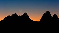 alabama, hills, moonrise, sunrise, sierra, ca, california, lone pine, alabama hills, mountains