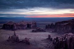 hunts mesa, hunts, mesa, desert, mountains, monument, valley, az, arizona, ut, utah, sunrise, dawn