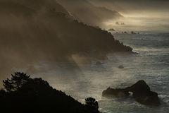 big sur, ca, california, pacific, ocean, water, beach, sunrise, sunset, surf, rocks, rock, coast, fog, sea stacks