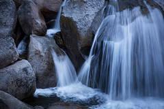 yosemite, national park, cascade, cascade falls, water falls, falls, ca, california, sierra, mountains, sunrise, water, granite
