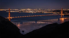 san francisco, bay area, sunrise, golden gate, golden gate bridge, twilight, sunset, marin, headlands ggnra, golden gate national recreation area,