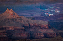 arizona, az, grand canyon, national park, grandview point, grandview, colorado river, water, southwest, west, colorado plateau, storm, clouds, red rock, sunset, south rim