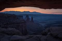 utah, ut, canyonlands national park, mesa arch, sunrise, canyons, southwest, colorado plateau,  sun star, starburst, atmospherics, red rock, moab, sandstone, islands in the sky