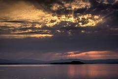 mono lake, negit island, sunrise, water, sierra, mountains, california, ca, eastern sierra, storm, clouds