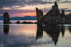 mono lake, water, sunrise, tufa, tufas, eastern, sierra, eastern sierra, landscape, 395, lee vining, california, ca, mountains, high desert, desert