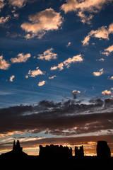 monument valley, southwest, sunrise, AZ, UT, arizona, utah, indian land, mountains, desert, clouds