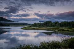 mountains, Wyoming, wy, Tetons, Grand Teton Park, landscape, Fall, trees, aspens, fall color, jackson, oxbow bend, sunrise, snake river