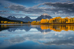 grand teton national park, tetons, oxbow bend, snake river, snake, wyoming, wy, river, mountains, trees, water, fall, color, fall colors, aspens, snake river, grand teton national park,  tetons, nati