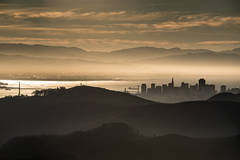 san francisco, bay area, sunrise, golden gate, golden gate bridge, twilight, sunset, marin, headlands ggnra, golden gate national recreation area,