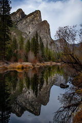 yosemite, fall, national park, sierra, mountains, trees, merced, river, sierra nevada, water, yosemite valley, sisters, merced, river, reflections