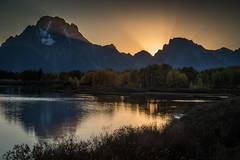 mountains, Wyoming, wy, Tetons, Grand Teton Park, landscape, Fall, trees, aspens, fall color, jackson, sunrise, snake river, meadow