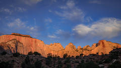 Zion, Zion National Park, ut, utah, red rock, trees, fall, colorado plateau, southwest, mountains, sandstone, zion canyon, weeping rock, cottonwood, trees, flora, maples, fall colors, towers, temples