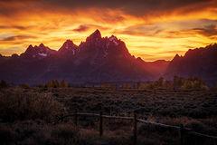 Tetons Sunset 4