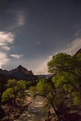 Zion, Zion National Park, ut, utah, red rock, trees, snow, spring, colorado plateau, southwest, mountains, sunrise, clouds, sunrise, watchman, predawn, stars, virgin, river