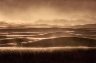Mesquite Dunes Sandstorm