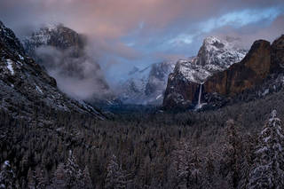 Winter at Tunnel View