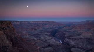 Lupine Pt Moonset