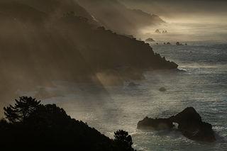 Big Sur Morning Light
