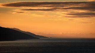 Sunrise Big Sur Coastline