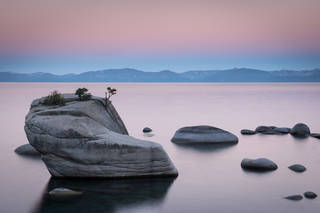 Bonsai Rock Sunrise