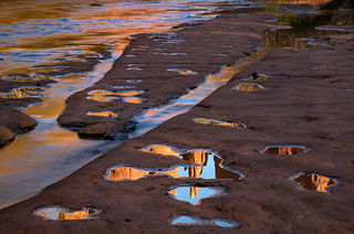Cathedral Rock Sunset Reflections