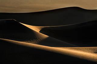 Death Valley Dunes at Sunrise