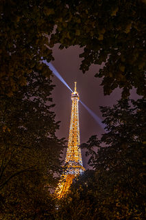 Eifel Tower at Night