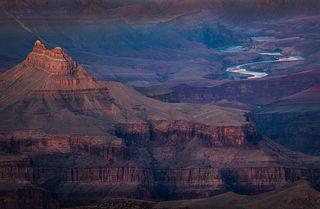 Colorado River Sunset, Grandview Pt