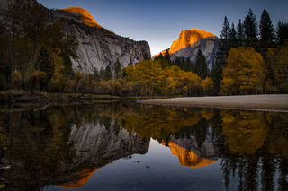 Half Dome Reflections 1