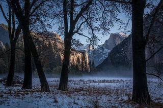 Leidig Meadow Winter Sunrise